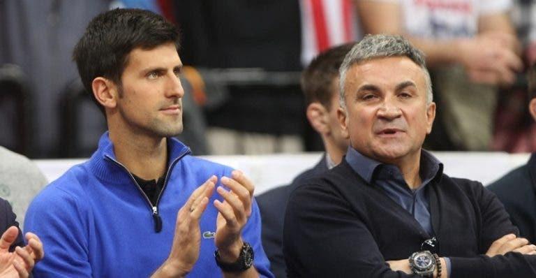 Srdjan Djokovic: «Nadal não aguenta ter o público contra, o Novak leva com isso há 15 anos»
