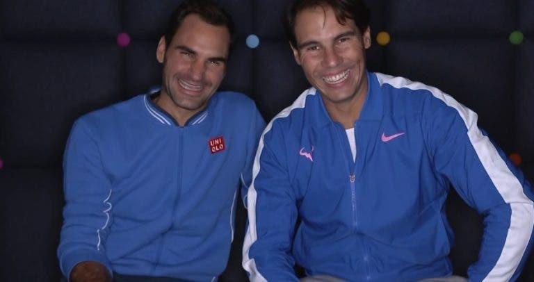 Nadal vs. Federer: quem tinha melhor currículo no dia do 34.º aniversário?
