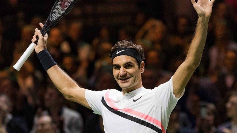 Diretor de Roterdão: «Vendi 10 mil bilhetes em 12 horas quando anunciei Federer»