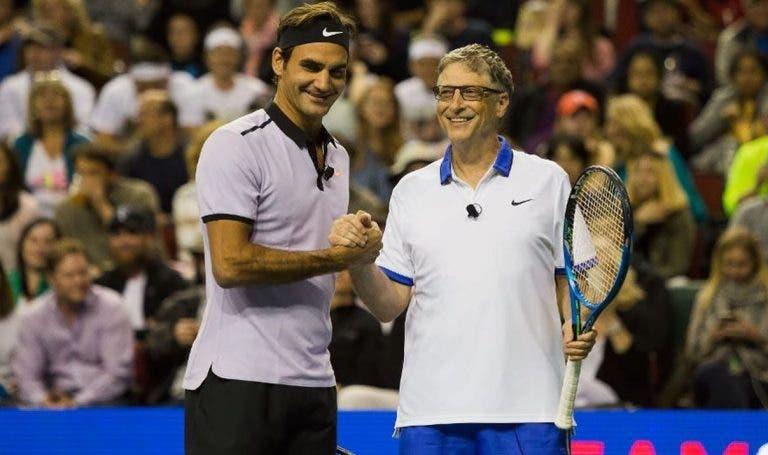 Bill Gates jogará ao lado de Roger Federer na Cidade do Cabo