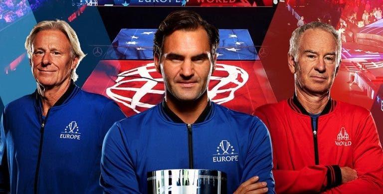 Laver Cup: Federer é o primeiro confirmado para a edição de 2020