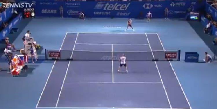 [VÍDEO] Dimitrov fez o primeiro winner de esquerda a duas (!) mãos da sua carreira em Acapulco