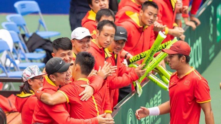 China desiste da Taça Davis devido ao coronavírus