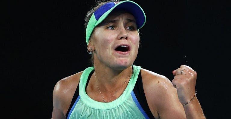 Kenin fez no Australian Open aquilo que ninguém conseguia há 7 anos