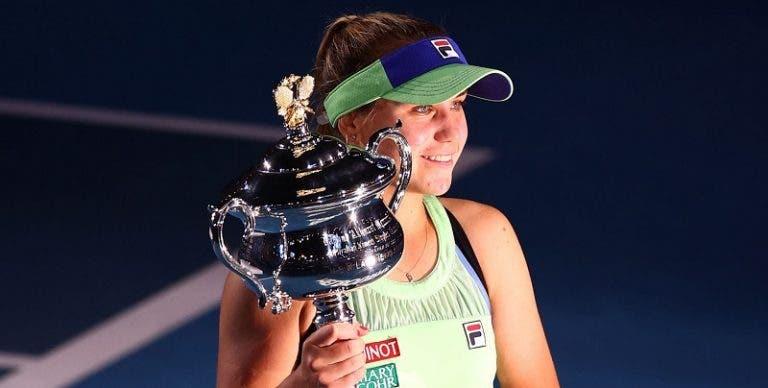 Sofia Kenin considerada a Jogadora do Ano para no WTA