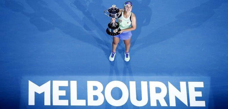 Sofia Kenin conquista o seu primeiro Grand Slam no Australian Open