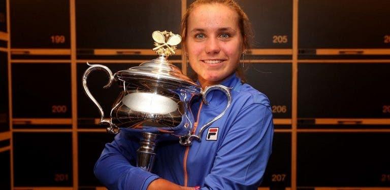 Kenin revela mensagem especial de Andreescu e admite influência de Sharapova: «Lembro-me dela ganhar Wimbledon»