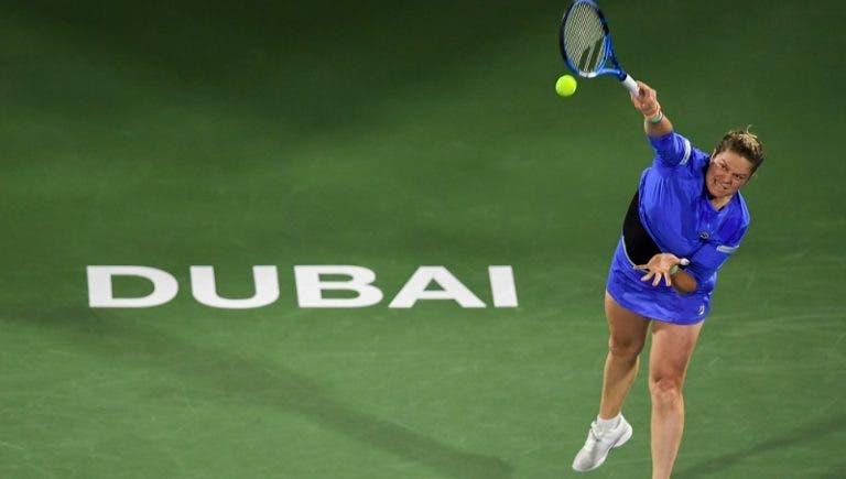 Clijsters regressa a muito bom nível aos 36 anos, mas perde com Muguruza