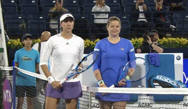 Cá está ela! Quase oito anos depois, Clijsters está (mesmo!) de volta