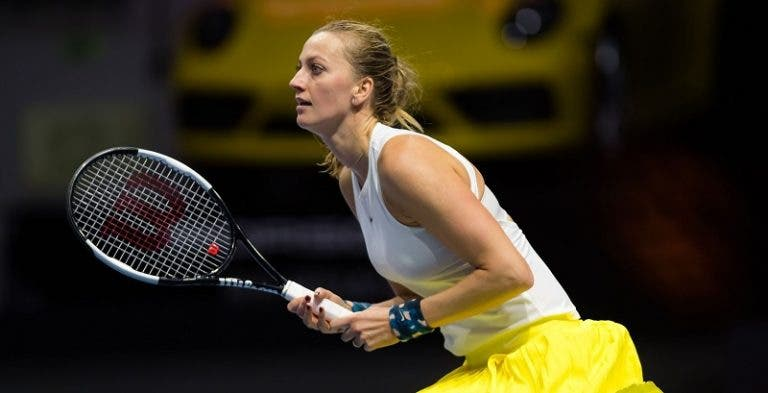 Kvitova e Svitolina felizes em torneios diferentes