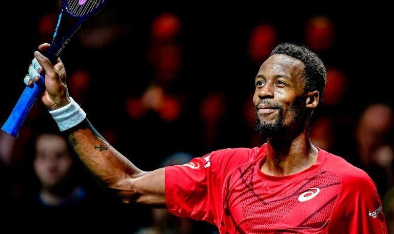 Imparável, Monfils defende o seu título no ATP 500 de Roterdão