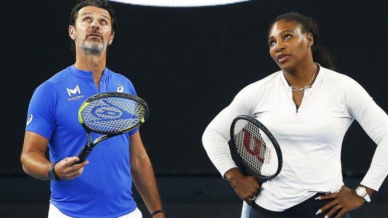 Mouratoglou e o fracasso de Serena na Austrália: «Temos de aceitar que isto não está a resultar»