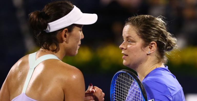 Muguruza sobre Clijsters: «O ténis está lá. Ela vai dar-nos muito trabalho…»