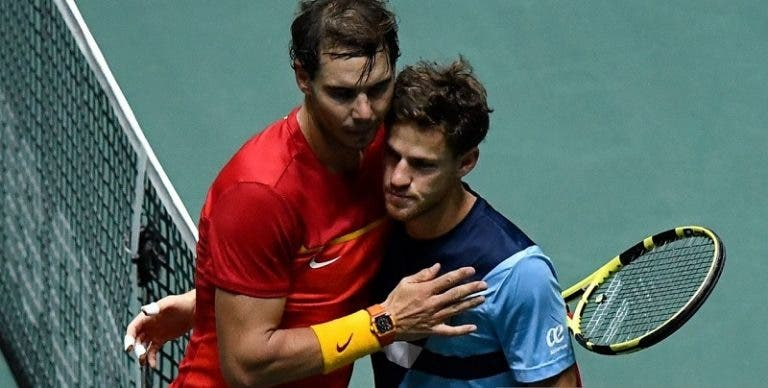 Schwartzman: «Agora tenho muito menos respeito por Federer e Nadal»