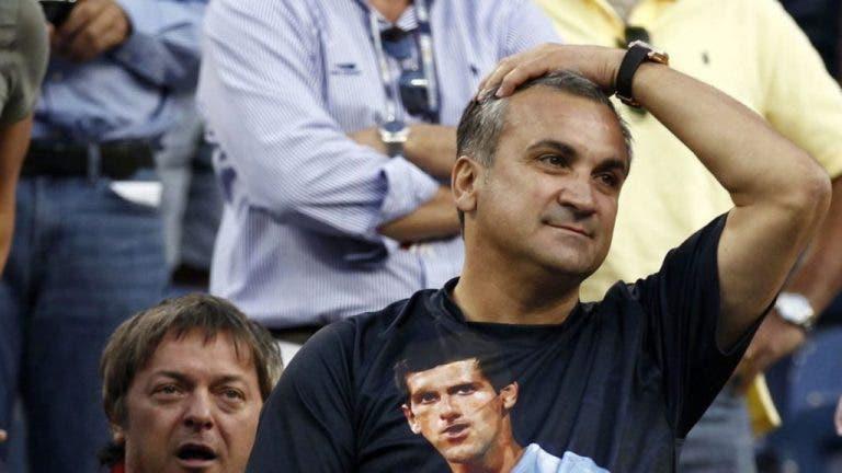 Pai de Djokovic: «Federer e Nadal já acertaram em pessoas e não foram desqualificados…»