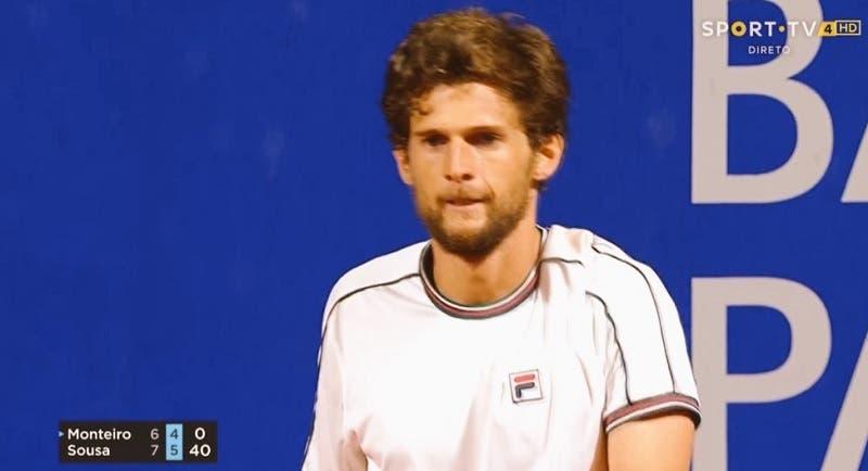 [VÍDEO] Pedro Sousa e um último jogo que foi um hino ao ténis