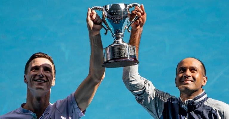 Ram e Salisbury sagram-se campeões do Australian Open
