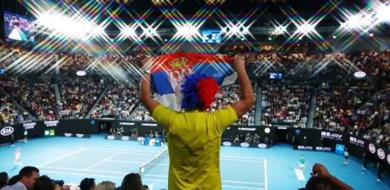 Australian Open volta a bater recorde de público em 2020