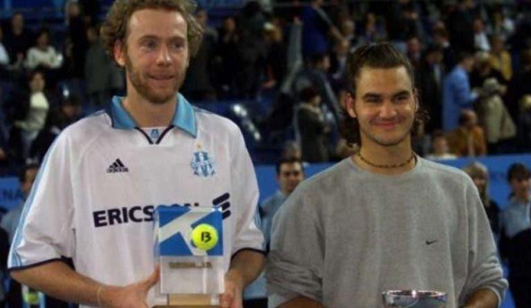 Há precisamente 20 (!) anos, Federer jogava a sua primeira final