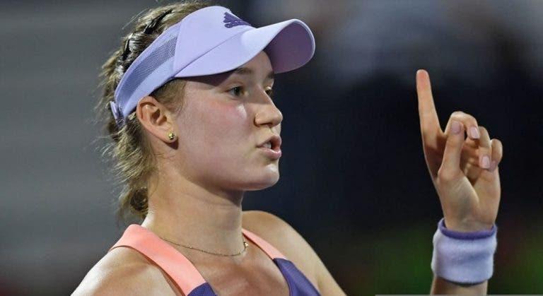 WTA de Cincinnati arranca com a derrota de uma das melhores jogadoras de 2020