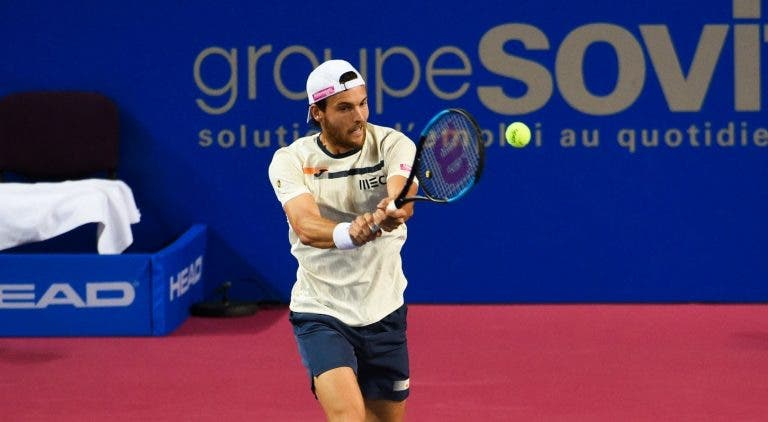 Boas notícias: João Sousa entra no quadro principal do ATP 500 de Roterdão à última da hora