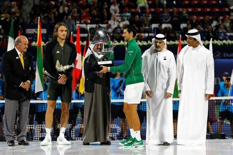 Tsitsipas e o início perfeito de Djokovic em 2020: «Nunca consegui mas acho que é possível»