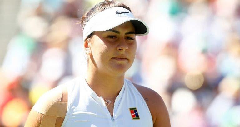Campeã Andreescu desiste de Indian Wells e vai sair do top 10