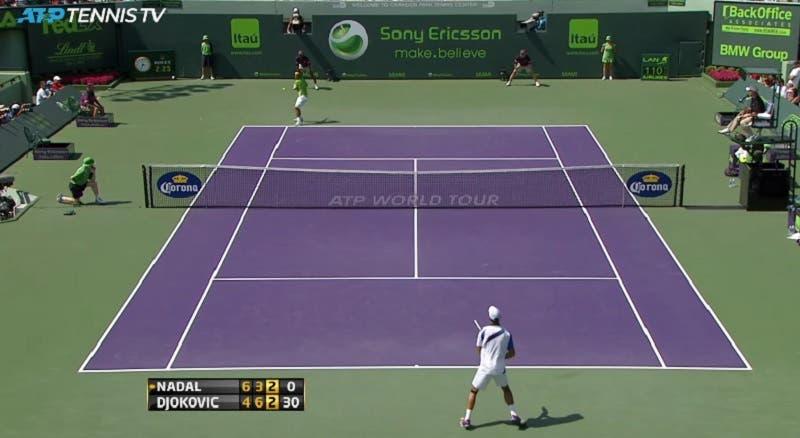 [VÍDEO] Djokovic e Nadal jogaram uma das suas melhores finais há 9 anos