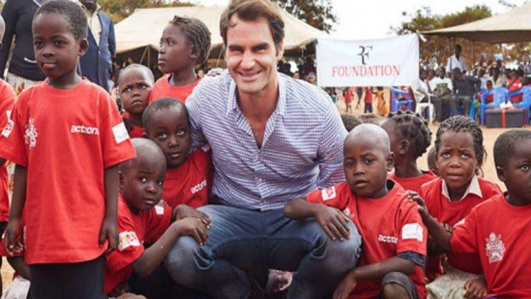 Roger Federer perde um dos patrocinadores da sua Fundação