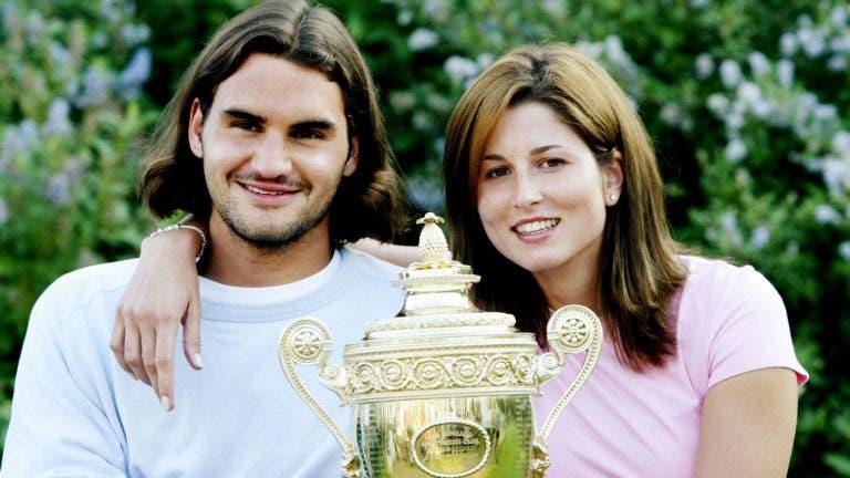 Federer: «Quando comecei a viver com a Mirka ela mandou-me logo às compras»