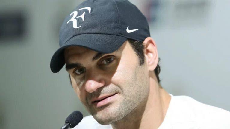 OFICIAL: Federer vence batalha contra a Nike e recupera direitos da marca 'RF'