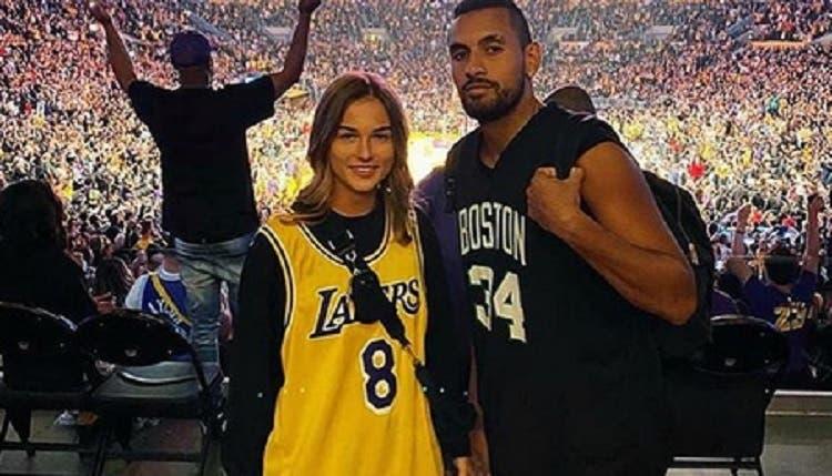 Ex-namorada de Kyrgios revela que teve CORONAVÍRUS