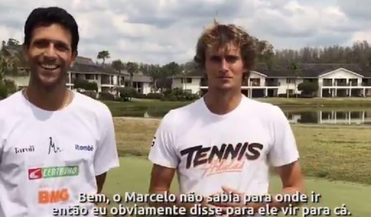 [VÍDEO] Juntos, Zverev e Melo contam onde estão a passar a sua quarentena