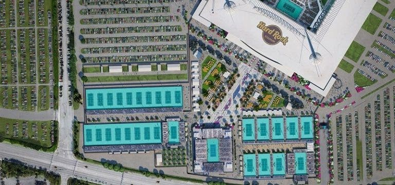 Miami Open vai ter 20 por cento de público em 2021