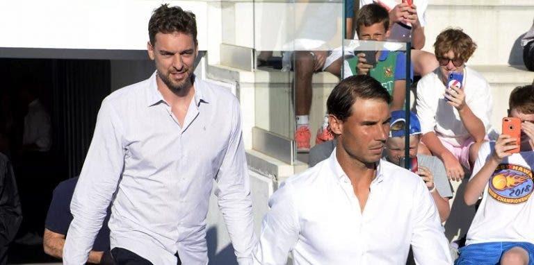 Nadal junta-se a Gasol para tentar angariar 11 milhões de euros