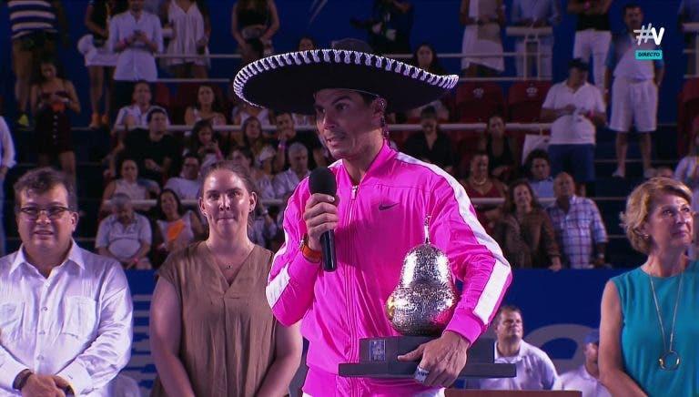 Acapulco diz que Nadal não foi defender o título porque não lhe pagaram o cachê