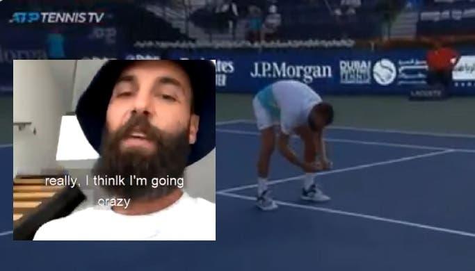 Paire conta a história por detrás da foto à marca no ATP 500 do Dubai