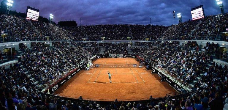Sorteio do torneio de Roma será realizado este sábado