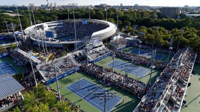 Coronavírus: palco do US Open transforma-se em hospital provisório