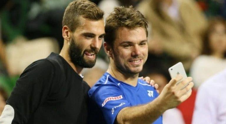 Paire 'goza' com o ouro olímpico de Wawrinka: «Ao lado de Federer também teria um»