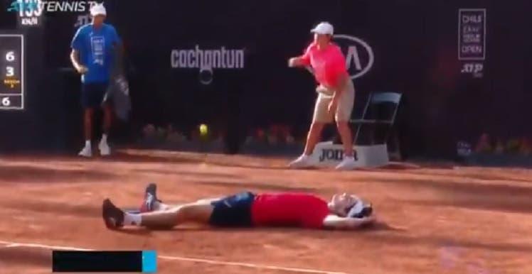[VÍDEO] O momento em que Thiago Wild fez história para o ténis brasileiro