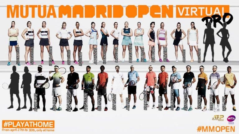 Conheça o conceito do Madrid Open virtual que arranca a 27 de abril