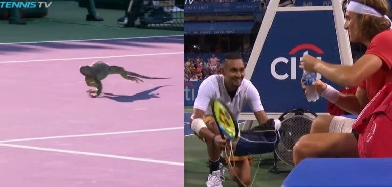 [VÍDEO] Eis 10 momentos que nunca pensou ver num court de ténis