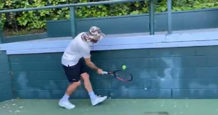 [VÍDEO] Está encontrado o 'vencedor' do desafio de Roger Federer
