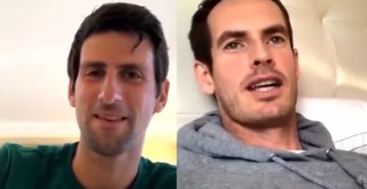 Djokovic e Murray fizeram revelações em direto: o melhor encontro entre ambos, que resultado mudariam e quem é o GOAT