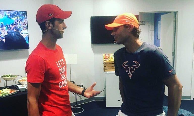 Fantástico: Djokovic ajuda Espanha com doação para a campanha de Nadal
