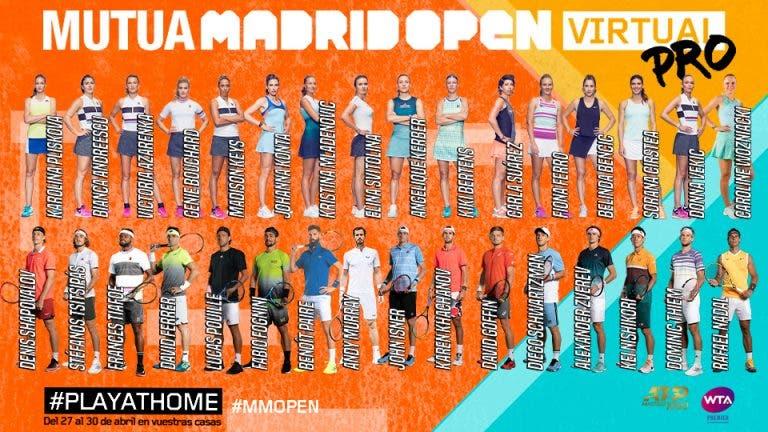 Madrid Open virtual: siga Murray vs Nadal (e muito mais) em DIRETO