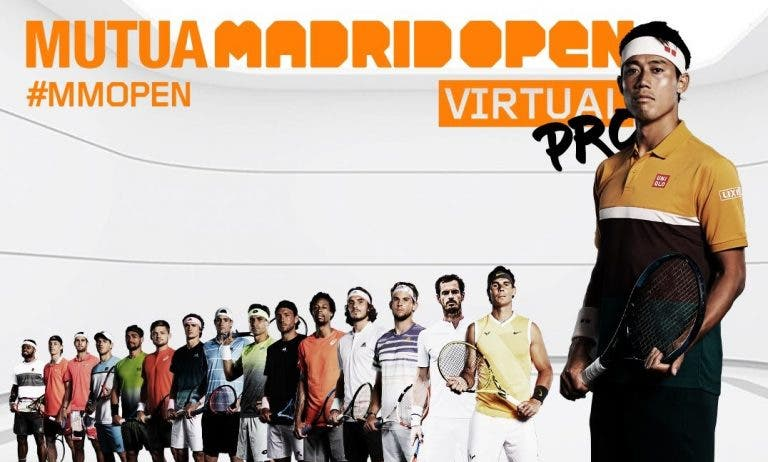 Madrid Open Virtual pro: conhecida a ordem de jogos para o 1.º dia