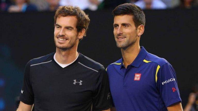 Murray: «Se a vacina for obrigatória para competir, Djokovic vai tomá-la»