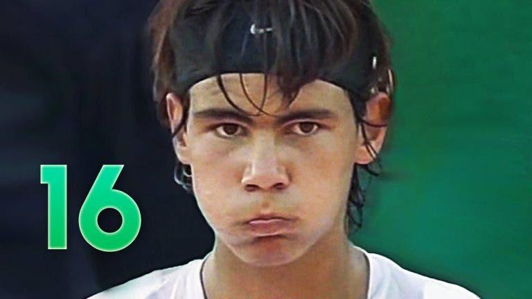 Nadal relembra porque escolheu o ténis em vez do futebol aos 12 anos